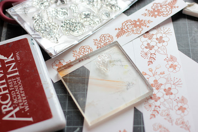 Stamping and Fussy Cutting Cards by Elena Olinevich using BoBunny Down By the Sea Collection