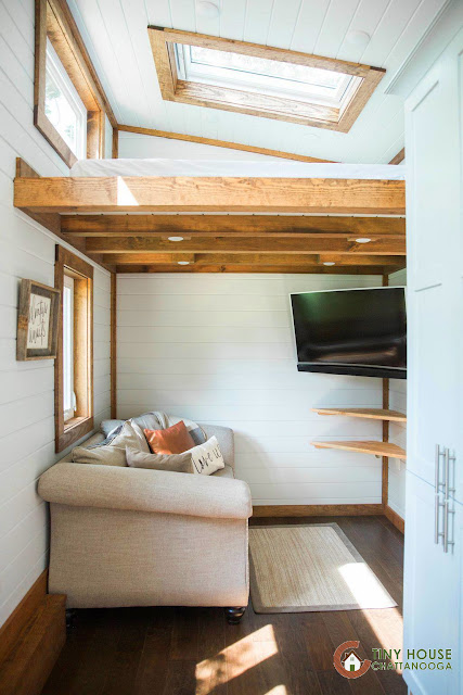 Tiny House Town The Lookout V3 From Tiny House Chattanooga
