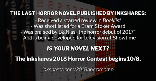 Inkshares Horror Contest 2018 and Interview with Previous Winner: Scott Thomas