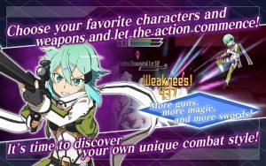 Sword Art Online Memory Defrag Mod Apk