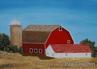 painting by Paul Langston