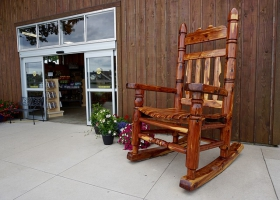 Picture of a rocking chair.