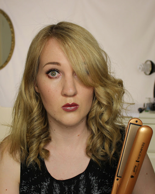 HAIR | Remington Keratin & Argan Nourish Straightener Review