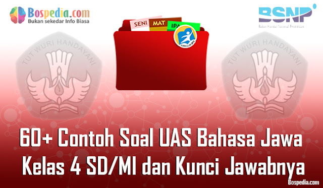 60+ Contoh Soal UAS Bahasa Jawa Kelas 4 SD/MI dan Kunci Jawabnya Terbaru