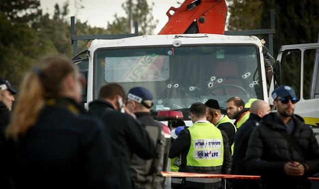 Escenario de ataque camión Armon Hanatziv