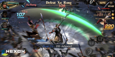 Dynasty Warriors Unleashed Apk baru android