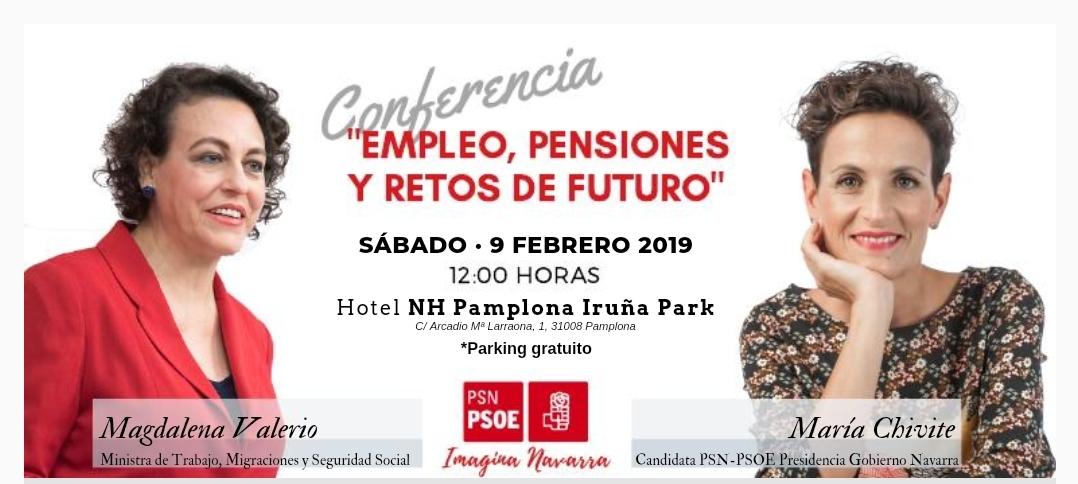 """""""Empleo, pensiones y retos del futuro"""" 9/2/19"""
