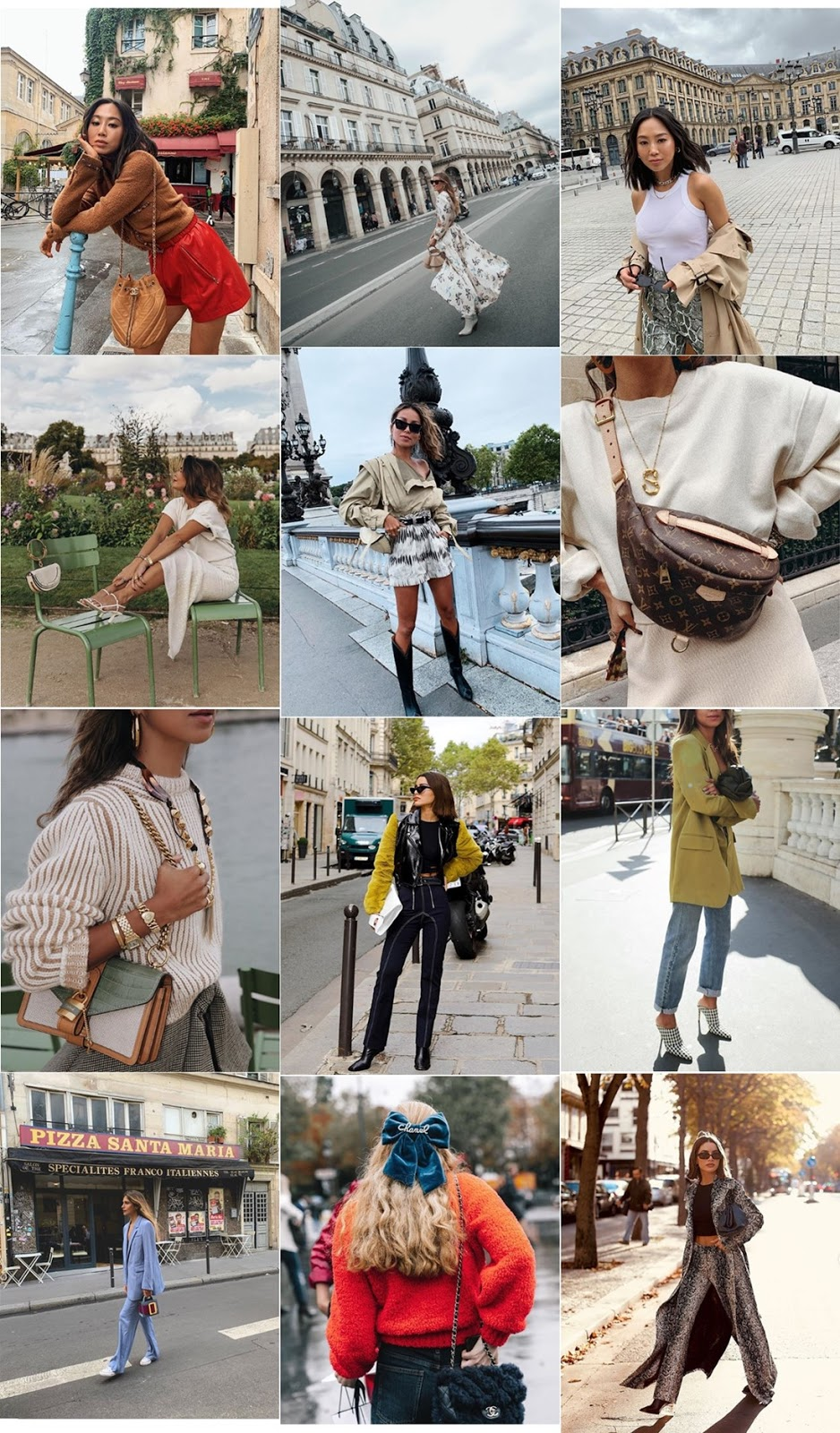 best paris fashion week street style outfits 2019