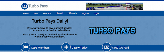Turbopays.com is not paying and it is scam