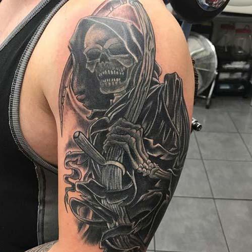 erkek omuz dövmeleri man shoulder tattoos 10