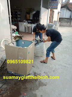sua may giat thai binh