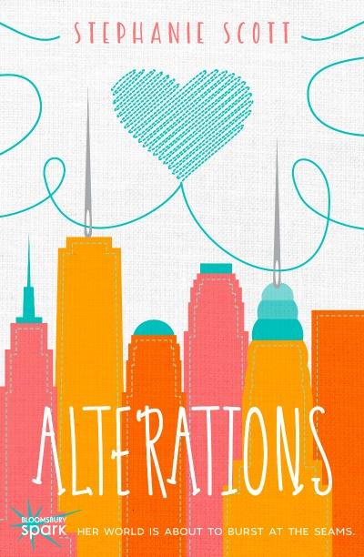 Stephanie Scott debut YA novel Alterations book cover and giveaway