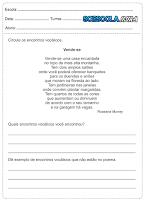 Atividades para o 3° ano de português