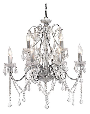Dining room chandelier inspiration | via monicawantsit.com