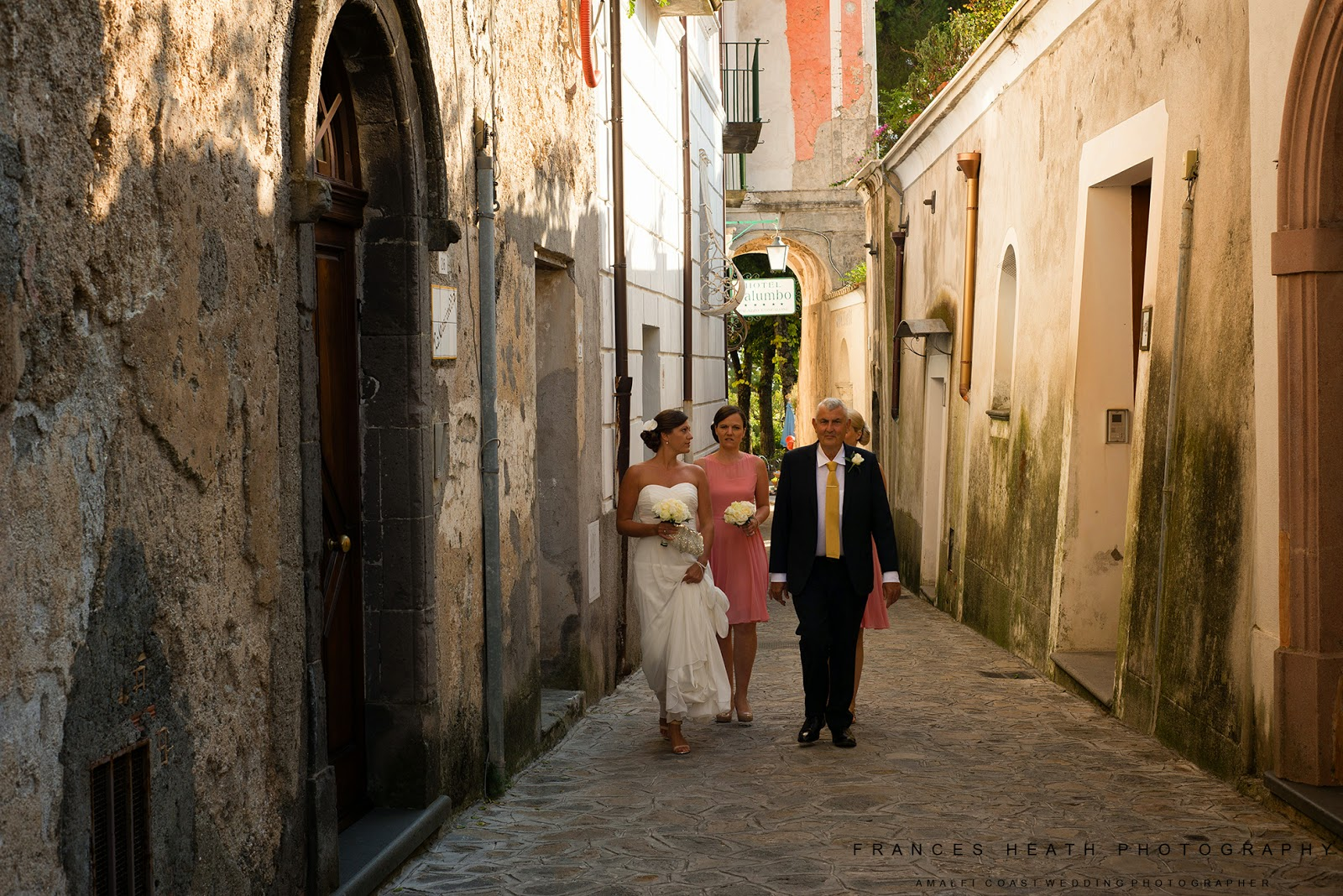 Wedding party in Ravello