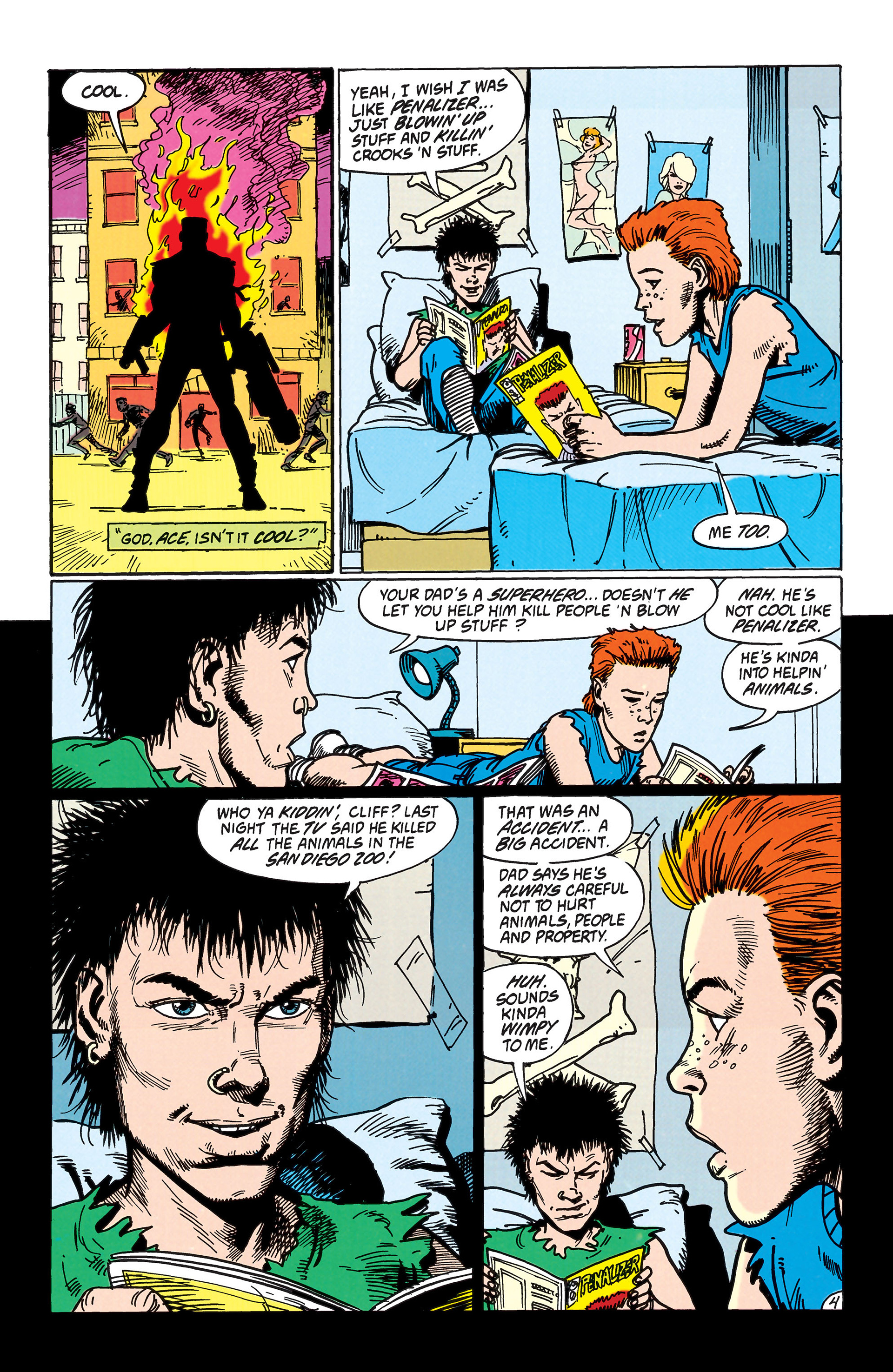 Read online Animal Man (1988) comic -  Issue #38 - 5