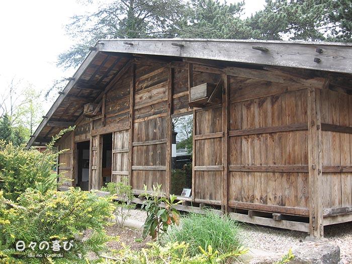 vue maison de kiso façade