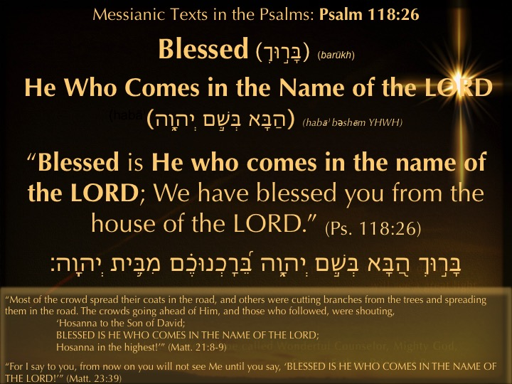 Image result for PSALM 118:26