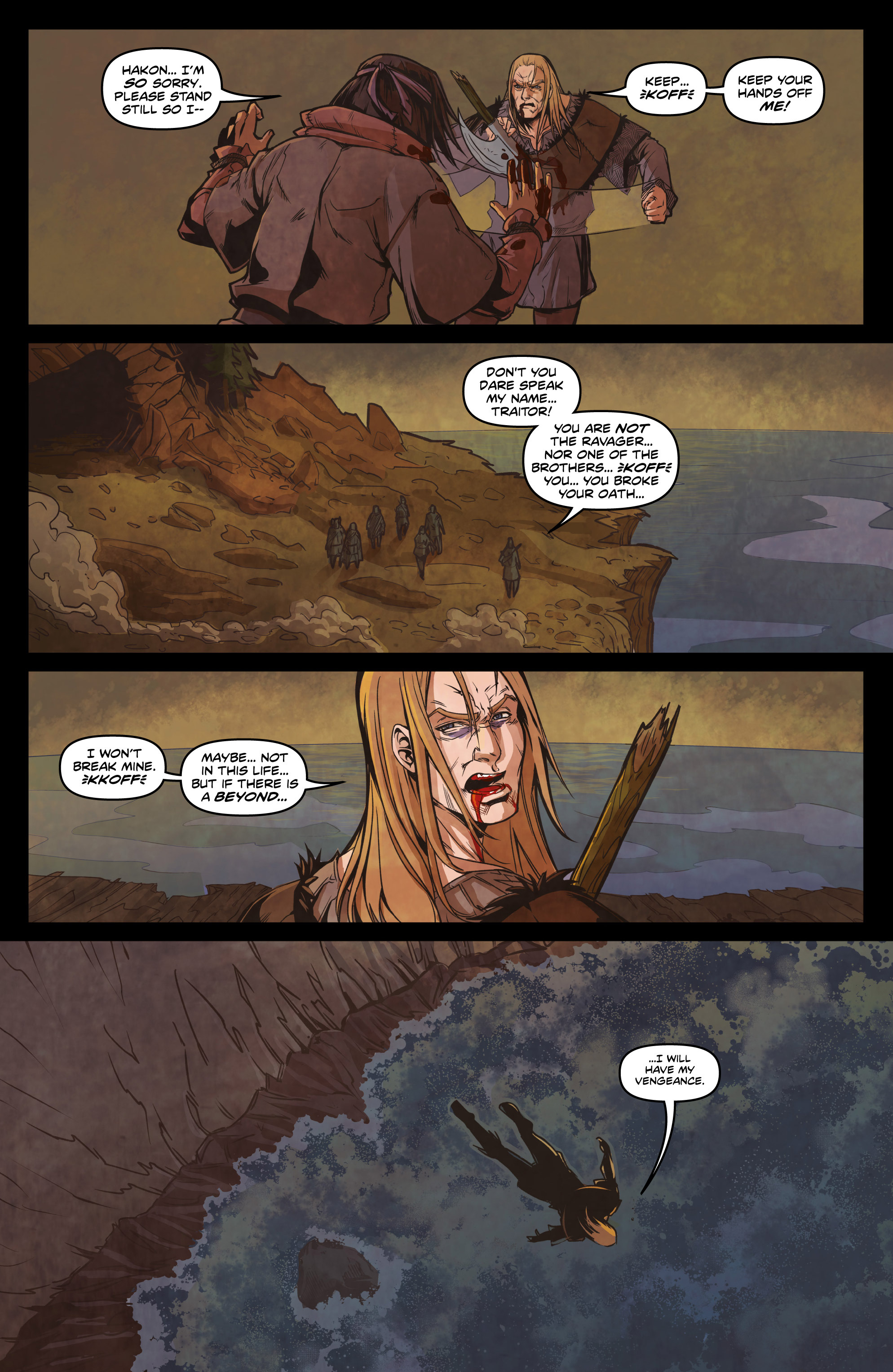 Read online Rogues! (2014) comic -  Issue #4 - 19