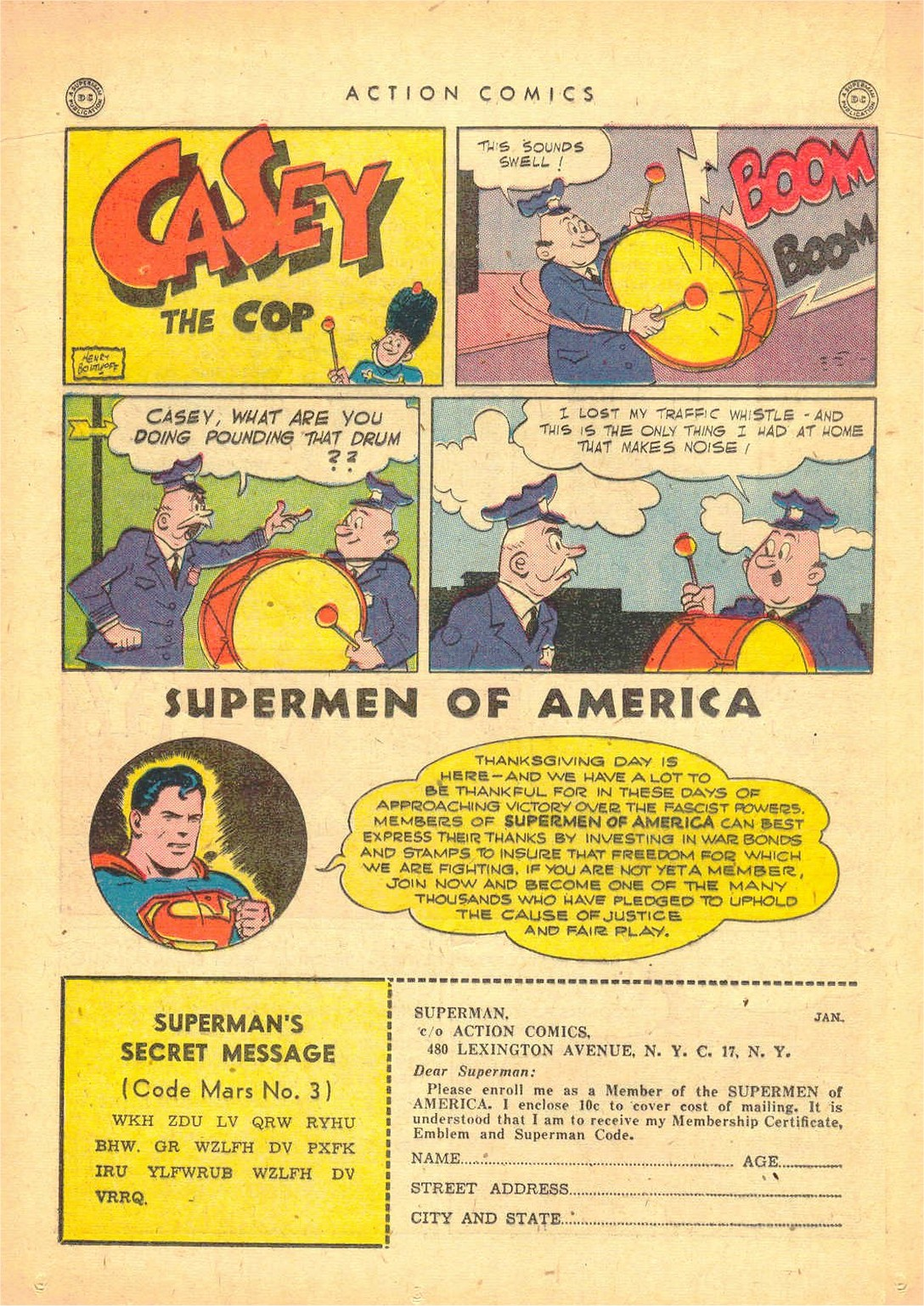 Read online Action Comics (1938) comic -  Issue #80 - 33