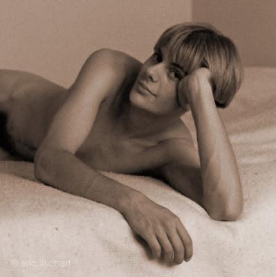 jeune homme nu,photo argentique,photo analogique
