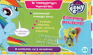 Glory Fluttershy Magazine Figure Announced in Polish Magazine