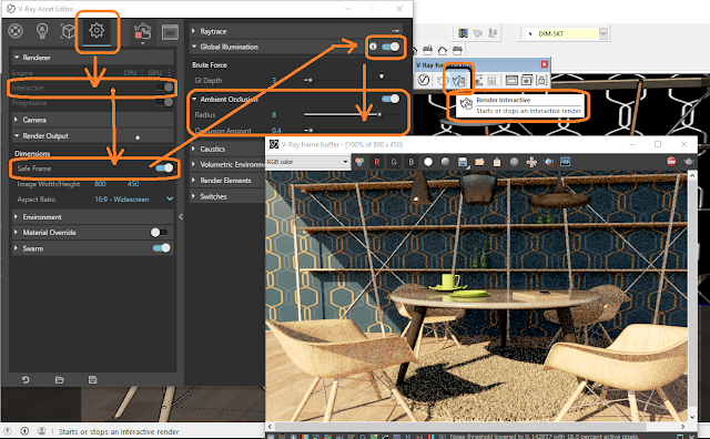 vray setting option vray 3.6,Render Interactive