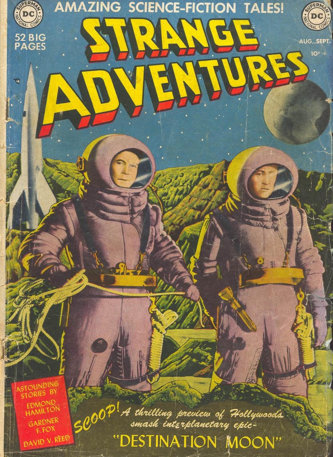 Strange Adventures (1950) issue 1 - Page 1