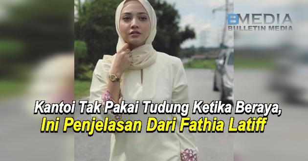 """""""Di samping mereka, saya lebih selesa buka tudung"""" - Kantoi Tak Pakai Tudung, Ini Penjelasan Fathia Latiff"""