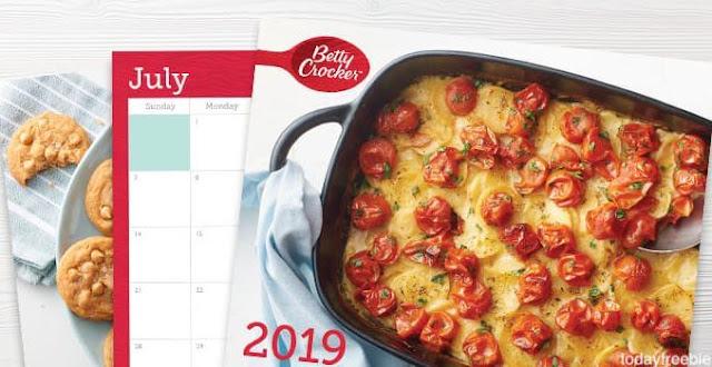 "FREE ""Betty Crocker"" & ""Pillsbury"" Calendars"