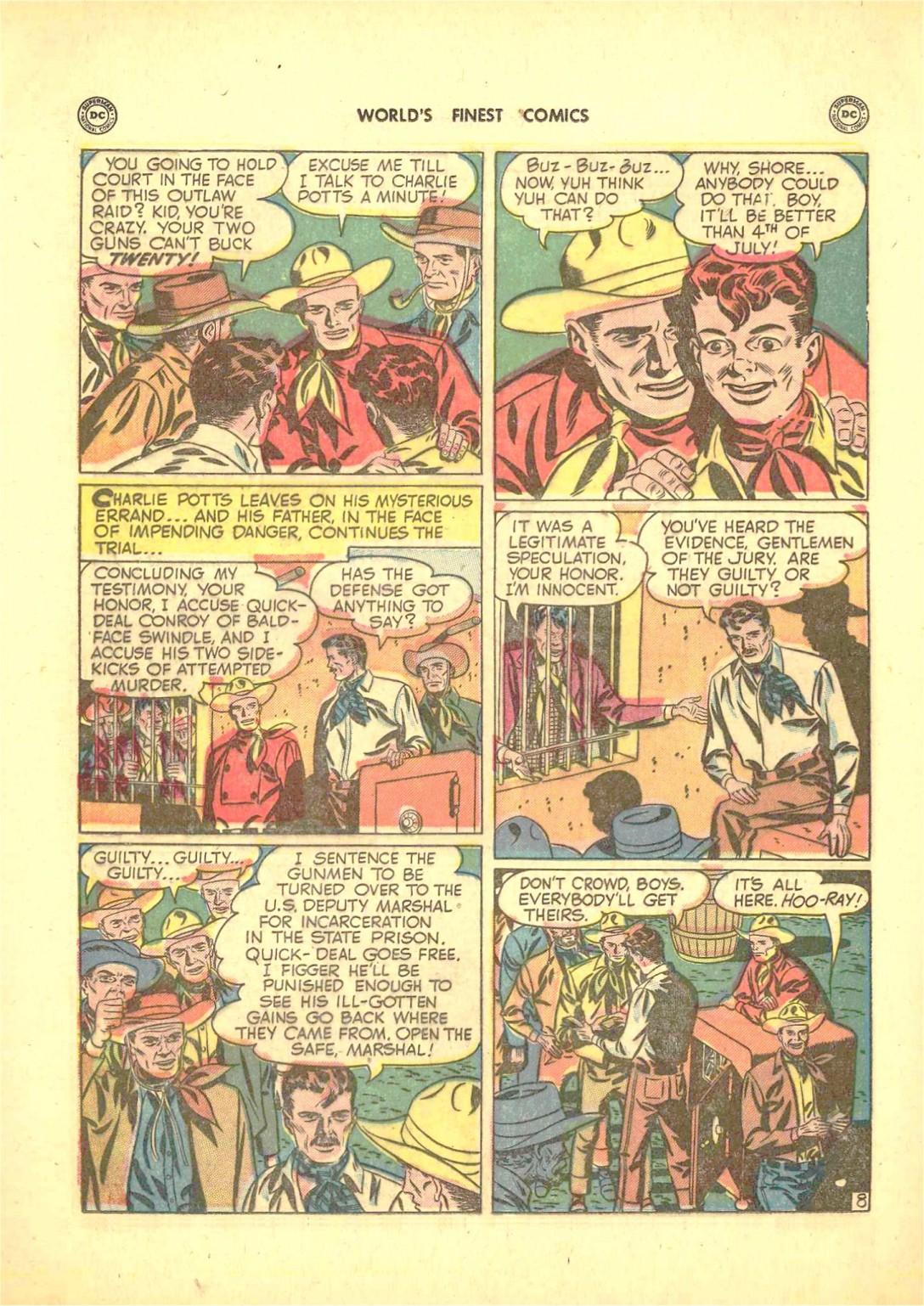 Read online World's Finest Comics comic -  Issue #50 - 46