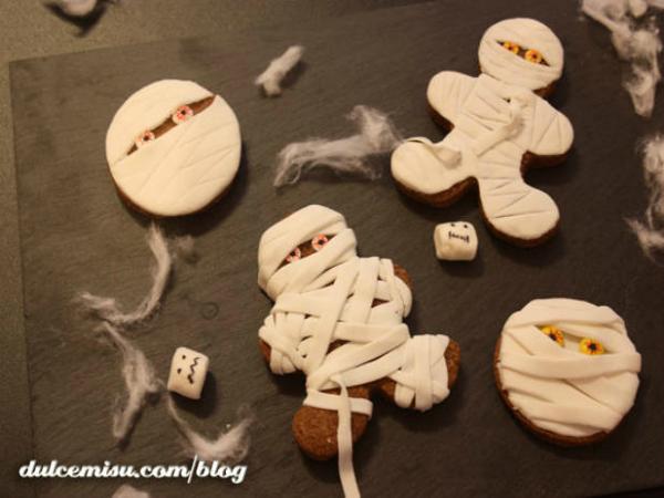 5 recetas de galletas de halloween ¡¡terroríficas y divertidas!!