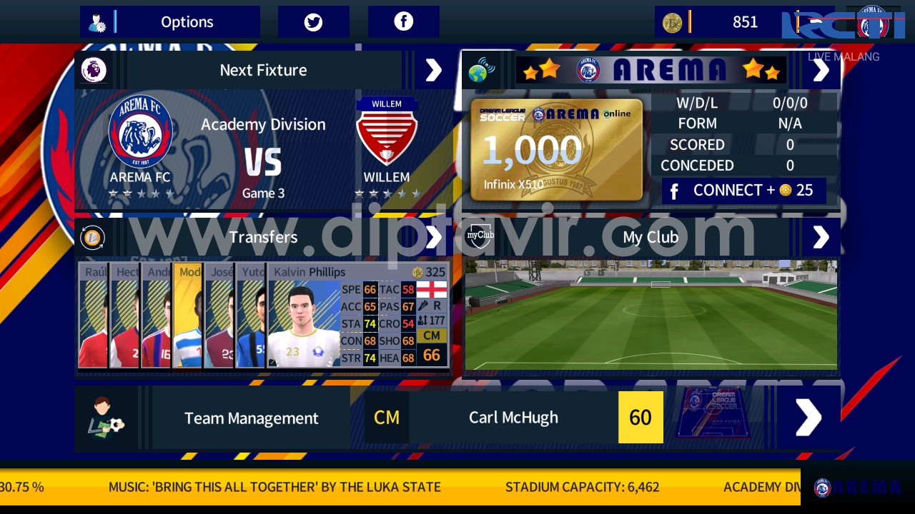 Arema Kit Dream League Soccer 2018