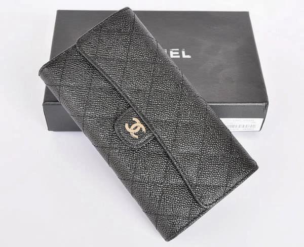 Chanel Cc Logo Flap Wallet