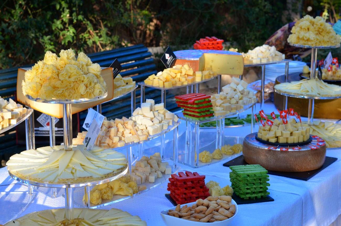 La guarida de bam party de quesos - Decoracion buffet ...