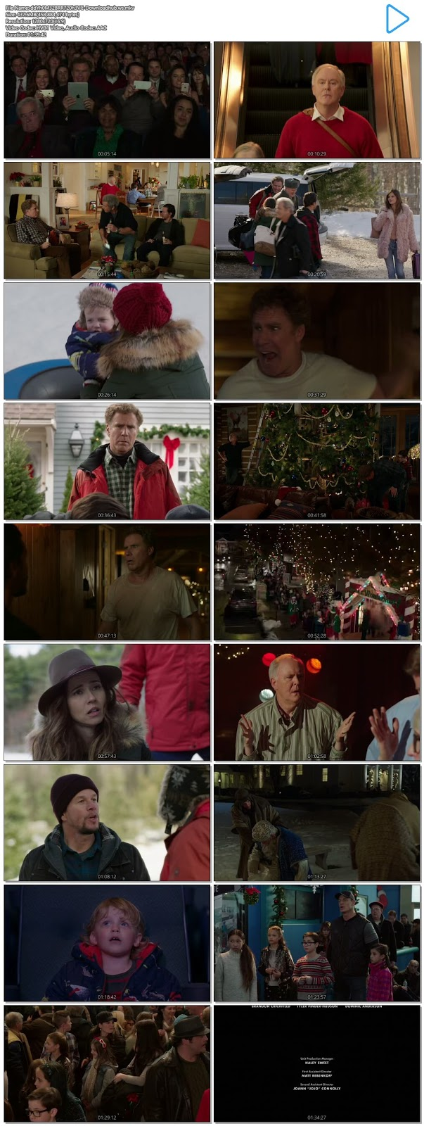 Daddy's Home 2 2017 English 720p HEVC BRRip ESubs