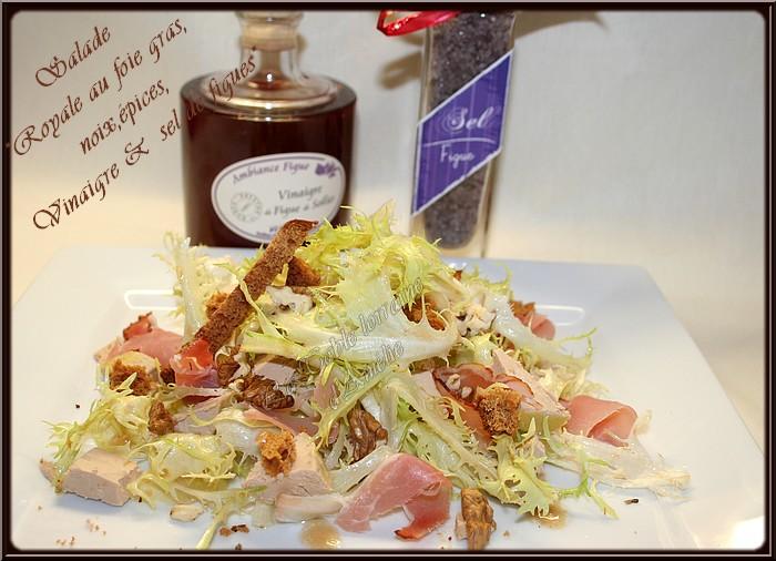 la table lorraine d 39 amelie salade royale ninou au foie. Black Bedroom Furniture Sets. Home Design Ideas