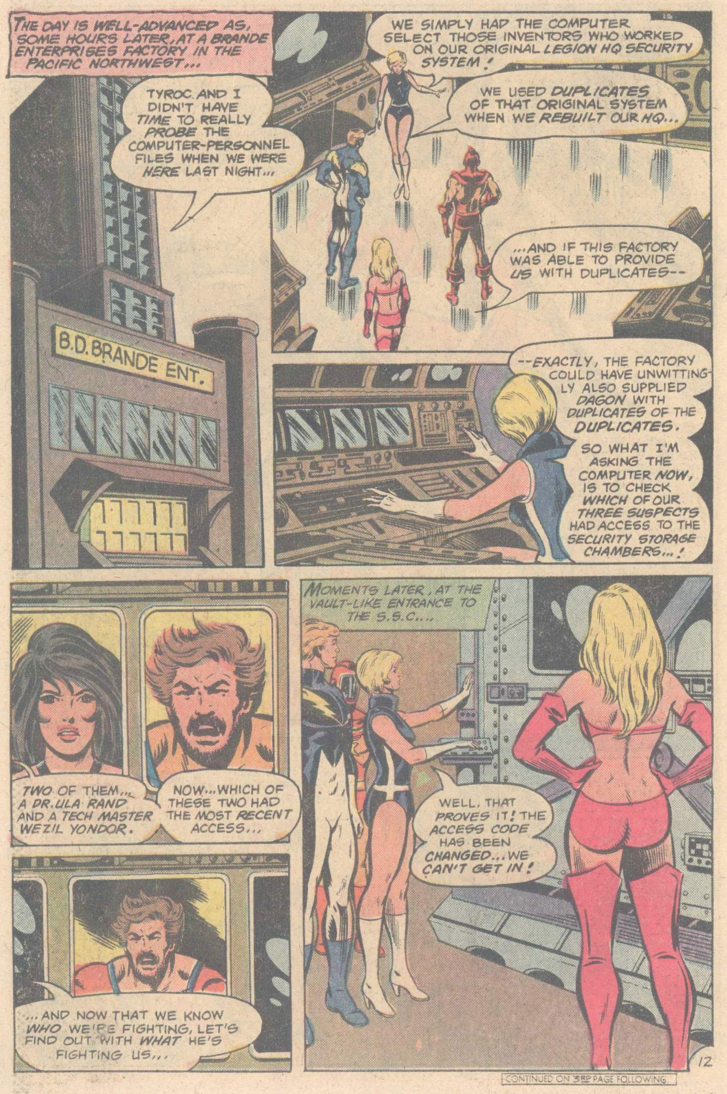 Legion of Super-Heroes (1980) 264 Page 21