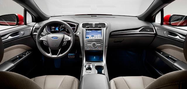 O'Meara Ford 2017 Ford Fusion Sport Dash
