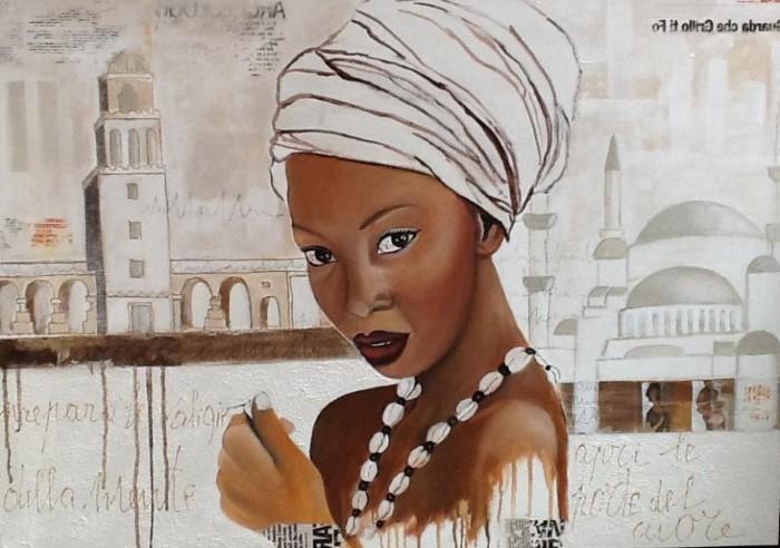 Итальянский художник. Barbara Berardicurti