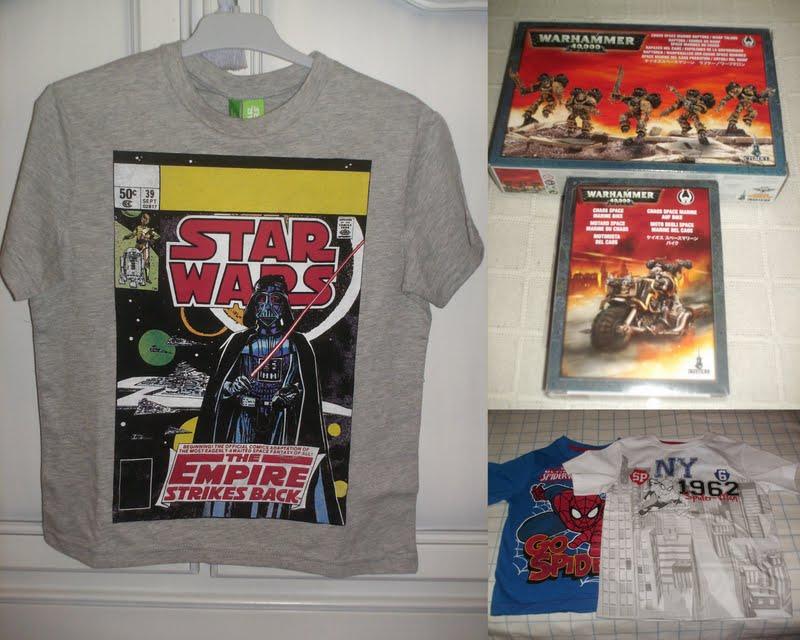 1c3fd2e595 Cuando el niño vio la camiseta de Star Wars con su Darth Vader de su alma  (la camiseta es de Benetton) se volvió loco