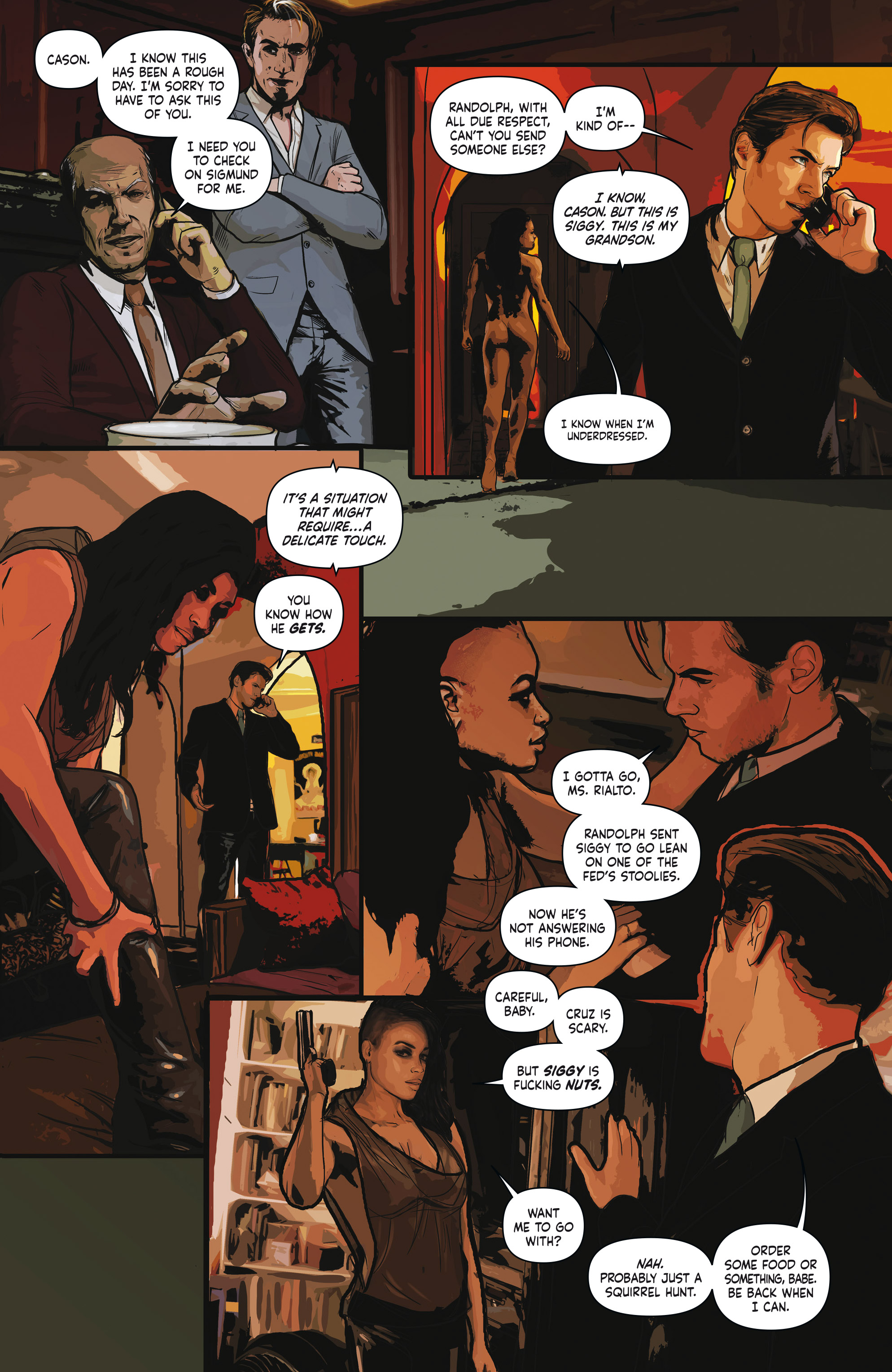 Read online Crosswind comic -  Issue #1 - 19