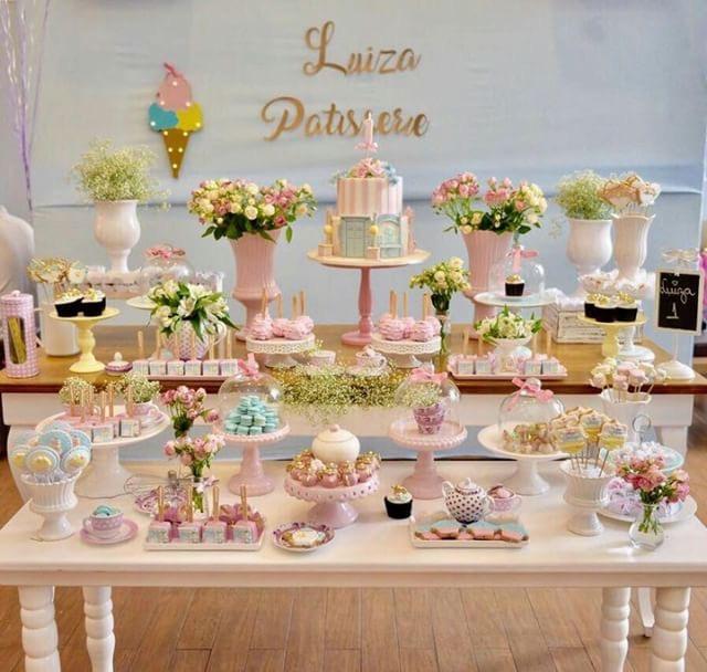 Decoração Patisserie Para Festa Infantil Guia Tudo Festa Blog De