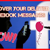 How to Recover Old Deleted Facebook Messages