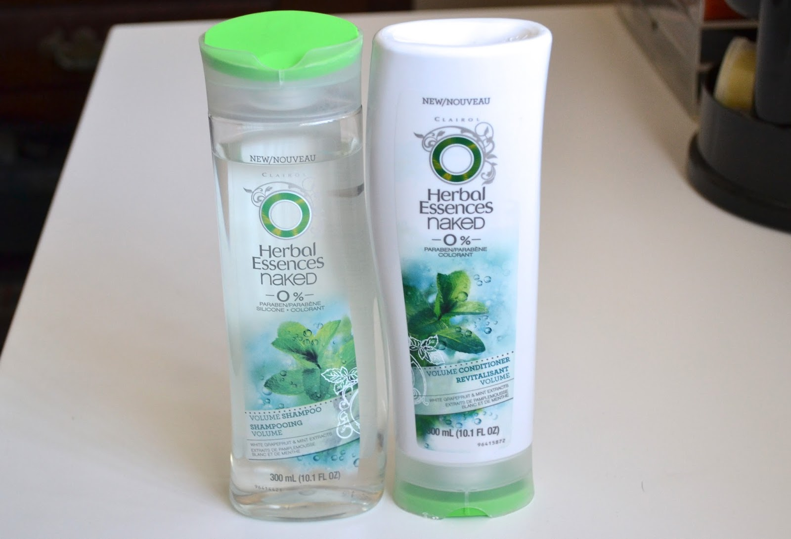 Herbal Essences Naked Volume Shampoo and Conditioner