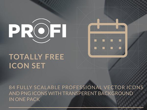 Download Profi Icon Set Free