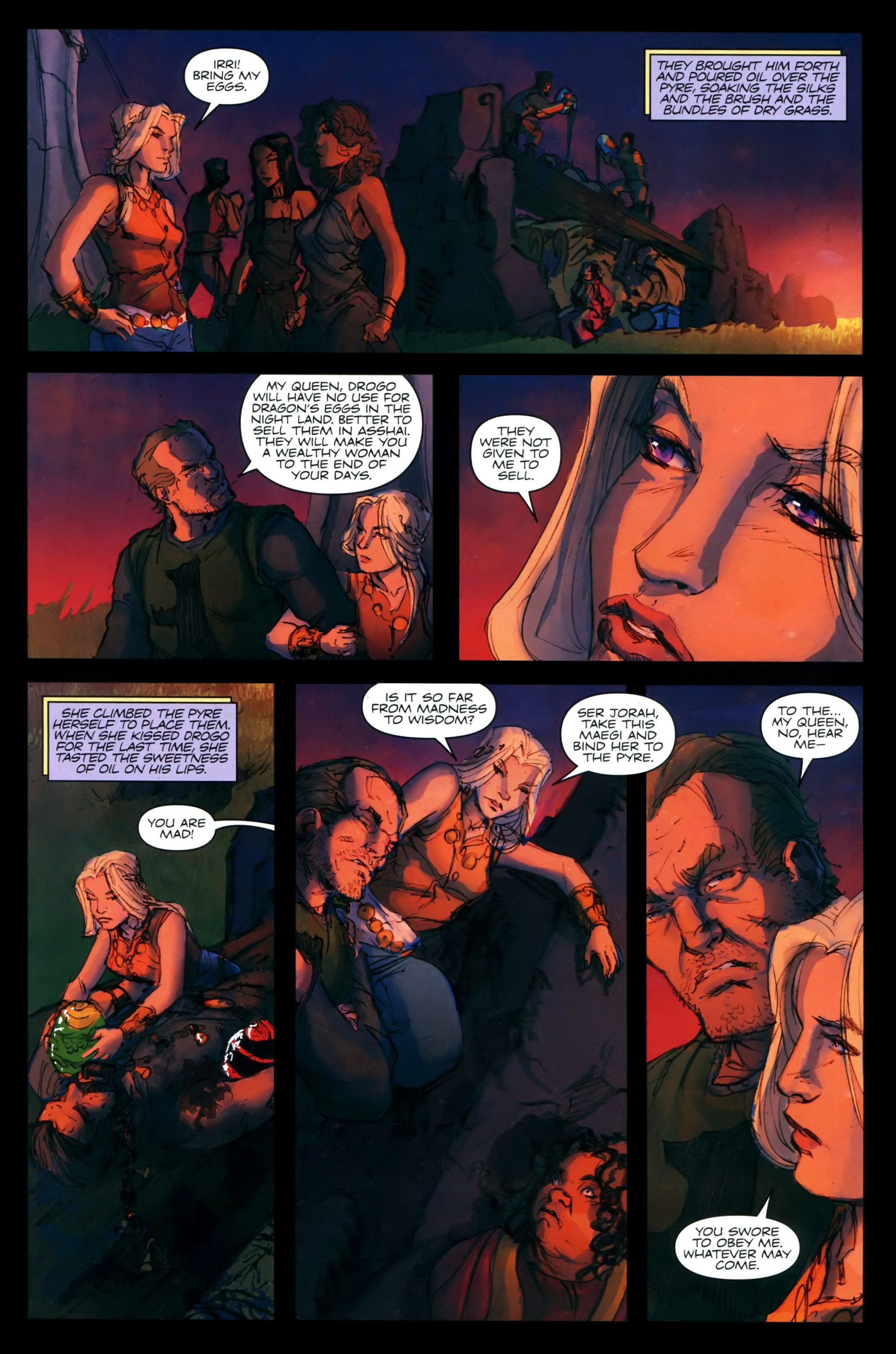 Read online A Game Of Thrones comic -  Issue #24 - 27