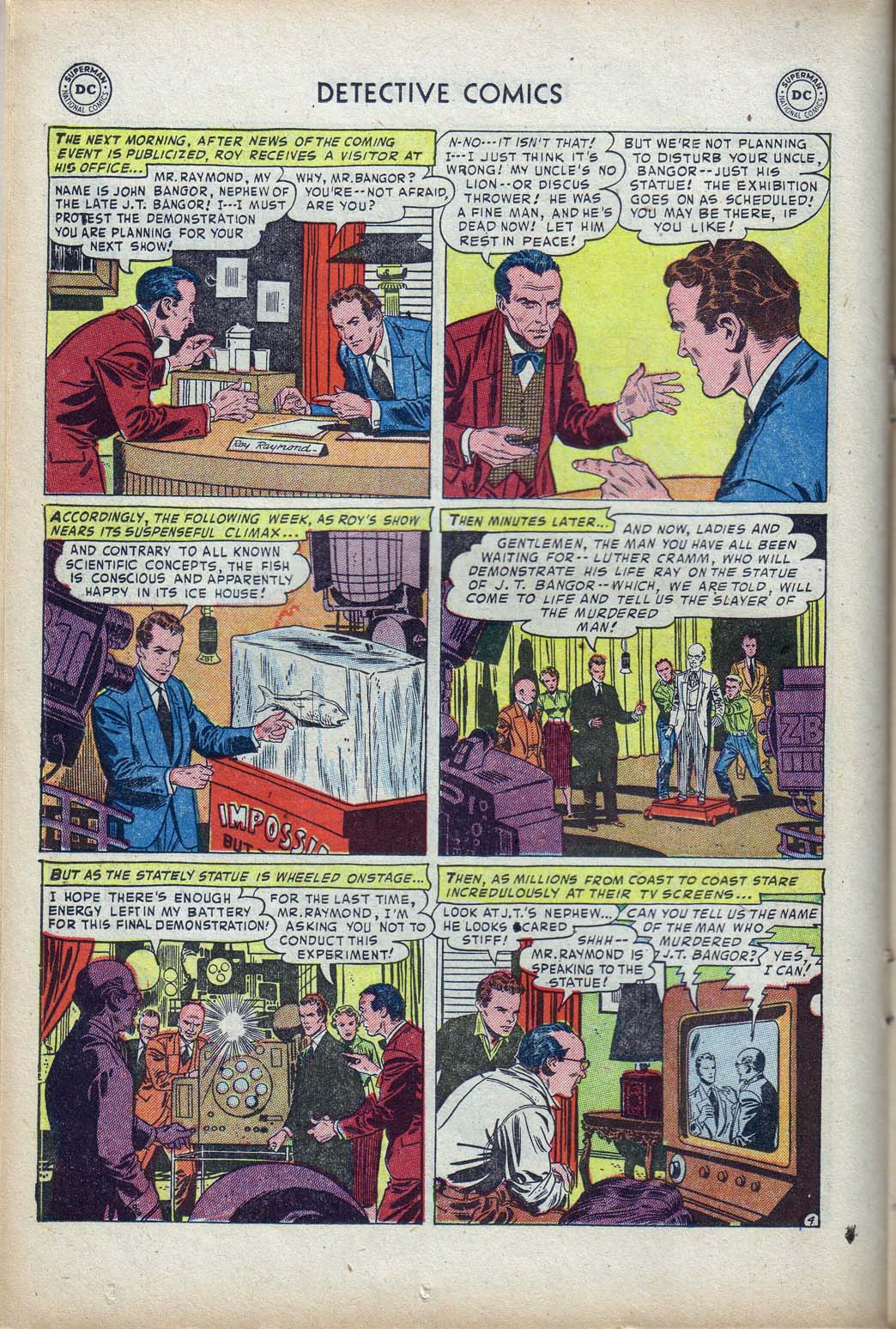 Read online Detective Comics (1937) comic -  Issue #190 - 20