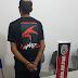 EXCLUSIVO: Polícia prende jovem na zona rural de Salgadinho por porte ilegal de arma de fogo
