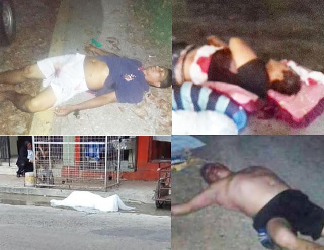 Violento fin de semana en Tabasco